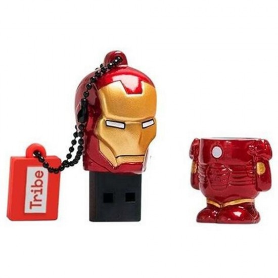 Tribe Flash Drive USB 3D Iron Man 16GB