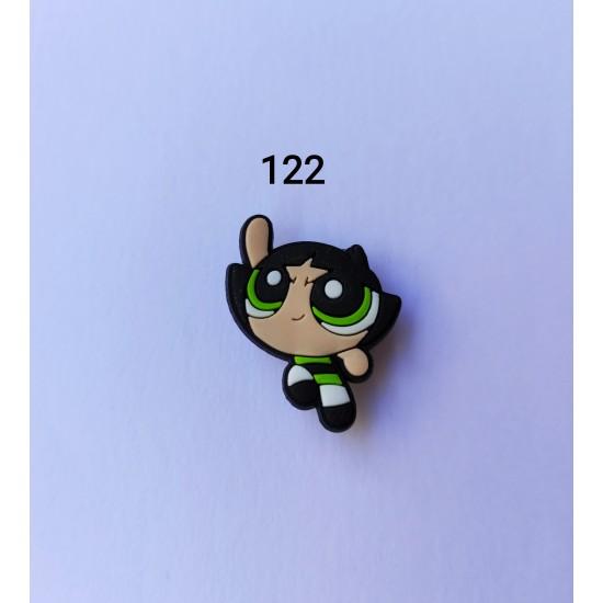 Jibbitz Powerpuff girls Buttercup No122
