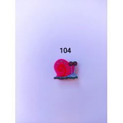 Jibbitz  Gary σαλιγκάρι No104