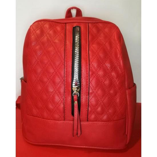 Τσάντα backpack με φερμουάρ μπροστά