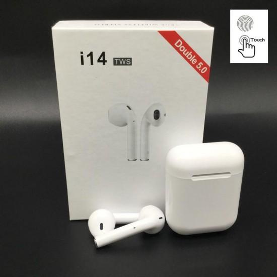 Ασύρματα ακουστικά Bluetooth 5.0 μινι για Smart Phonei14 TWS