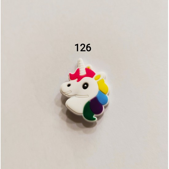 Jibbitz unicorn Νο126