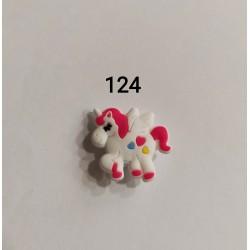 Jibbitz unicorn καρδιές Νο124