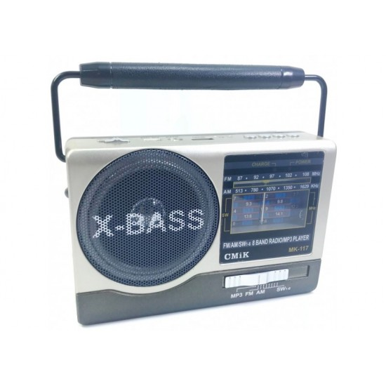 Φορητό ραδιόφωνο MP3|USB|SD CARD|FM CMIK MK-117