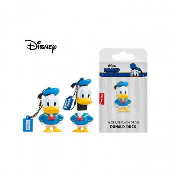 Tribe USB Flash Drive 16GB 2.0 3D Disney Classic Donald Duck
