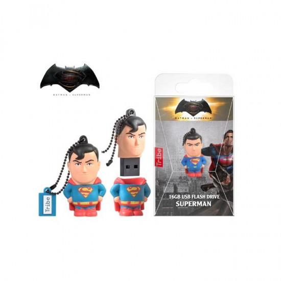 Tribe USB Flash Drive 16GB 2.0 3D Superman