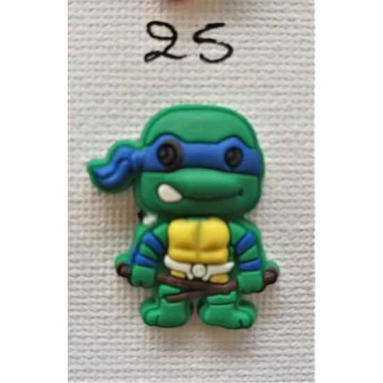 Jibbitz Ninja Turtles blue No25