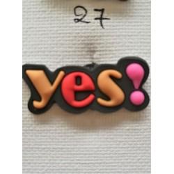 Jibbitz Yes No27