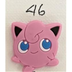 Jibbitz pokemon Jigglypuff Νο46