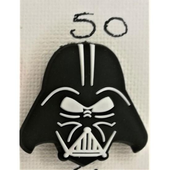Jibbitz Darth Vader κεφάλι Νο50