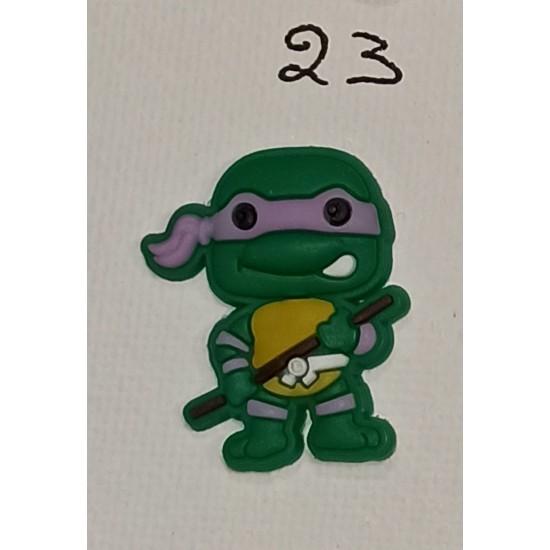 Jibbitz Ninja turtles purple No23