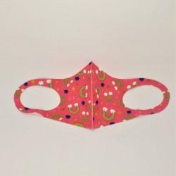 Μάσκα παιδική ουράνιο τόξο
