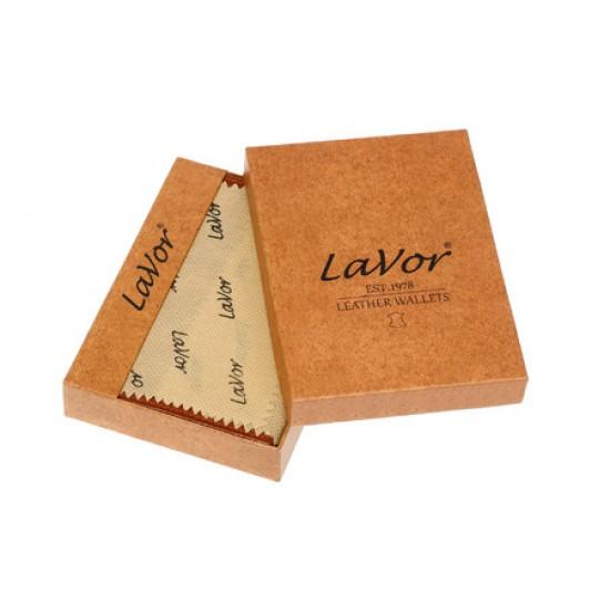 Πορτοφόλι Lavor Δερμάτινο αντρικό με εφέ ξύλου 1-8002