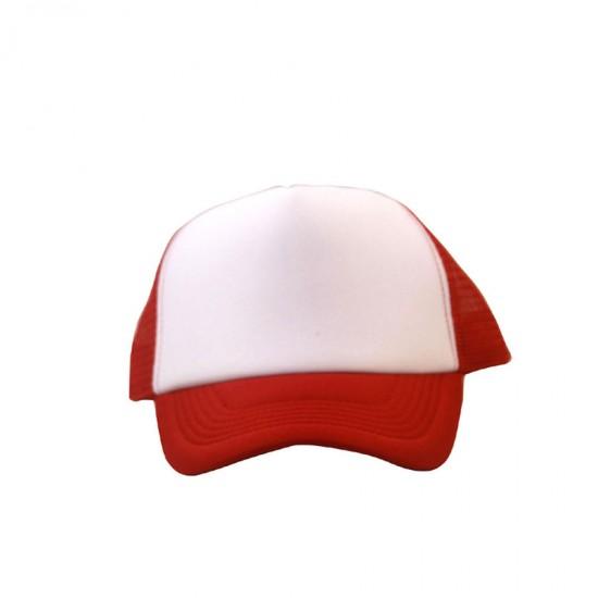 Καπέλα Jockey Tfar άσπρο κόκκινο