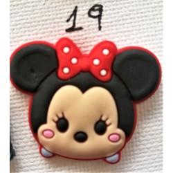 Jibbitz Minnie tsum tsum No19
